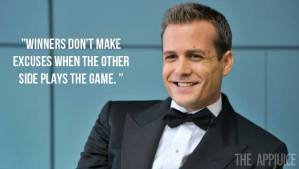 suits excuses