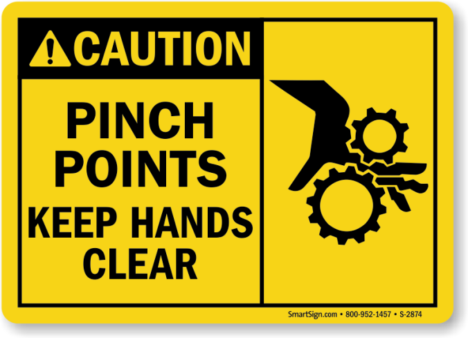 pinch points